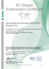 Cape Cross NC Balloon Catheter Certificate Apr211024_1
