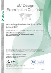 Escape Aspiration Catheter Certificate Apr 211024_1
